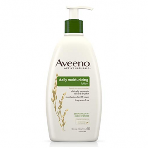 Aveeno Daily Moisturizing Body Lotion, 18 fl. oz @Amazon