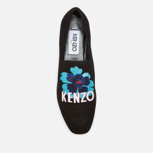 KENZO Women's Custer Embroidered Loafers
