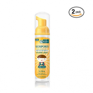 Neosporin Wound Cleanser For Kids To Help Kill Bacteria, 2.3 Oz (Pack of 2)  @Amazon