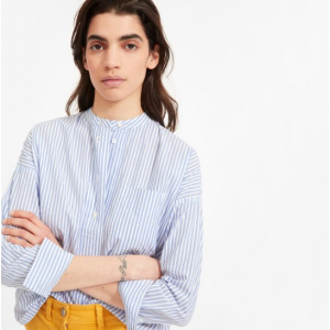 The Soft Cotton Popover Shirt