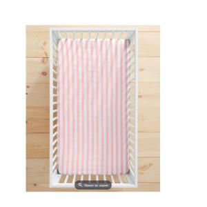 Swedish Stripe Crib Sheet