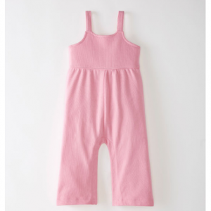 Easy Romper In Organic French Terry