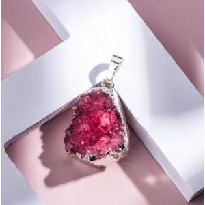 Rose Gemstone Pendant