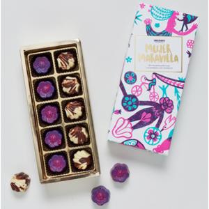 Bombones Mujer Maravilla Artisan Chocolates From Mexico