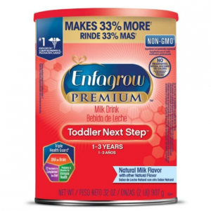 Enfamil Premium, Non-GMO Toddler Next Step Formula Powder - 32oz