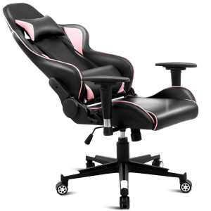 High Back Gaming Chair with Lumbar Support