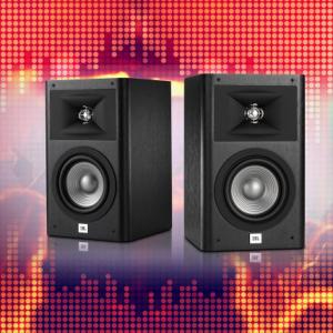 "$249.96 off Refurbished: JBL Studio 230 6.5"" 2-Way Bookshelf Speakers - Pair (Black) @ Newegg"
