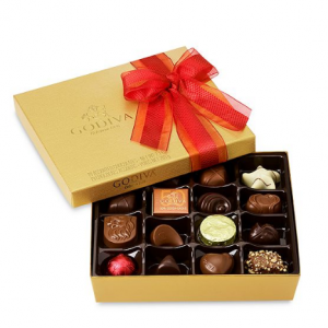 Godiva 19-Pc. Gold Gift Box