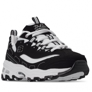Skechers Girls' D'Lites - Biggest Fan Walking Sneakers from Finish Line