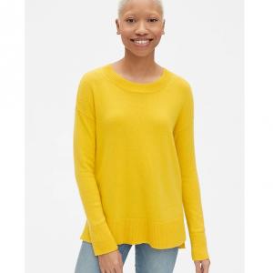 Crewneck Pullover Sweater Tunic