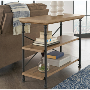 """Better Homes & Gardens River Crest Anywhere Console for TVs up to 42"""", Rustic Oak Finish"""