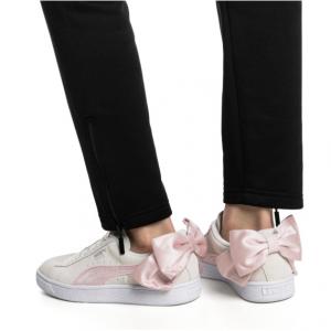 Suede Bow Hexamesh Women's Shoes