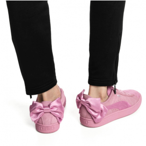 Suede Bow Galaxy Women's Shoes