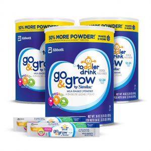 40% off Go & Grow by Similac Milk Based Toddler Drink, (Pack Of 3) 36oz