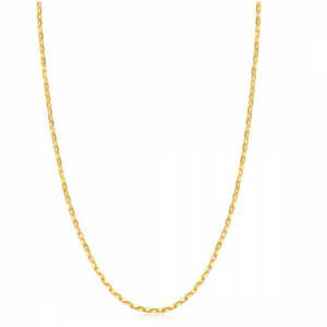 999.9 Gold Anchor Chain Necklace