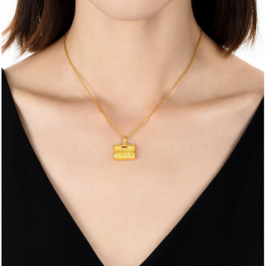 999.9 Gold Pendant