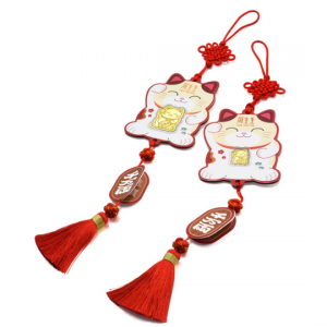 Chinese Gifting Collection 'Collectable' 999.9 Gold Lucky Cat 'Lucky Gold Coin'