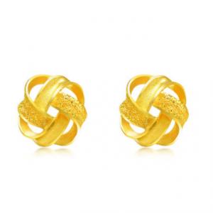 999.9 Gold Earrings