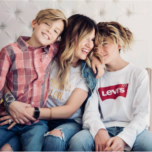 Up to 75% off baby & kids items @ Levis