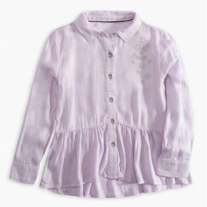 Toddler Girls 2T-4T Woven Peplum トップ