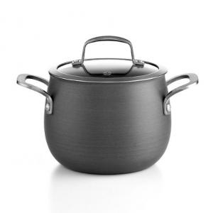 Belgique Hard-Anodized 3-Qt. Soup Pot with Lid