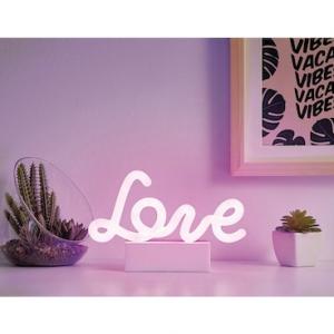 Merkury Innovations Purple Love Neon Mood Light