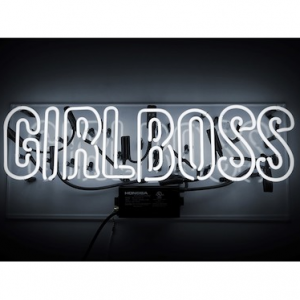 Oliver Gal Gallery Girl Boss Neon Sign