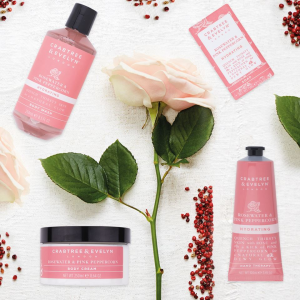 Up to 40% off Valentine's Day 2019 Gift sets @ Crabtree & Evelyn
