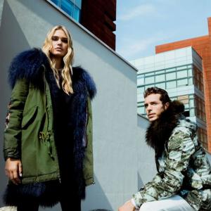 MR & MRS ITALY Parka Coats and Shoes @ Barneys New York