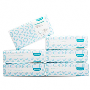 $31.34 for Winner Soft Dry Wipe 600 Count Unscented Cotton Tissues for Sensitive Skin @ Amazon