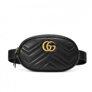 GUCCI GG MARMONT LEATHER BELT BA