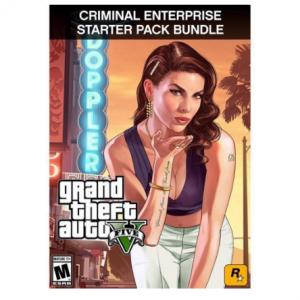 $14.99 (Was $59.98) For Grand Theft Auto V and Criminal Enterprise Starter Pack Bundle