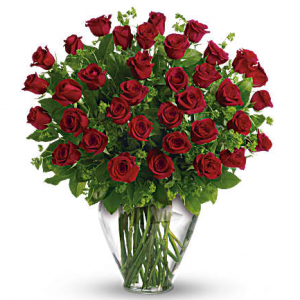My Perfect Love - Long Stemmed Red Roses Standard