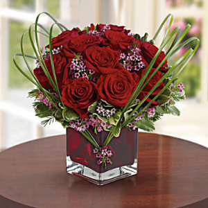 Teleflora's Sweet Thoughts Bouquet with Red Roses Deluxe