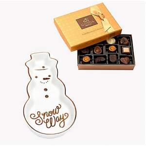 Snow Way Trinket Tray with Gold Discovery Gift Box, 12 pc.