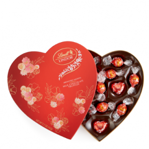 Milk Chocolate LINDOR Heart (13-pc)