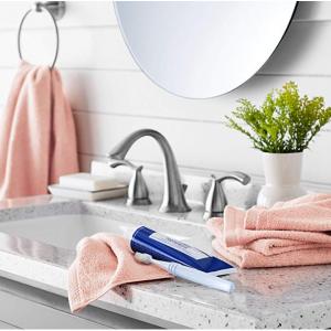 $10.88 off AmazonBasics Quick-Dry Washcloth - 100% Cotton, 12-Pack, Petal Pink @ Amazon