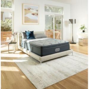Beautyrest Silver Charcoal Coast Luxury Firm Pillowtop California King Mattress @Sam's Club