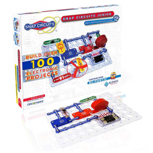 Snap Circuits Jr. SC-100 Electronics Exploration Kit | Over 100 STEM Projects @Amazon