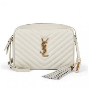 SAINT LAURENT Monogram Lou Medium Leather Crossbody Bag