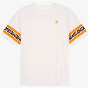 Women's T-Shirt Converse International Girl OS Boxy