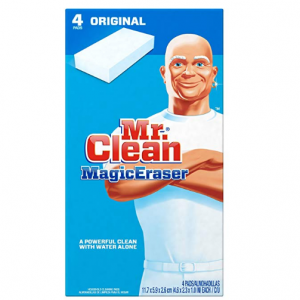 4Ct Mr. Clean Magic Eraser Multi-Surface Cleaner @Amazon