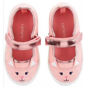 Carter's Glitter Cat Casual Sneakers