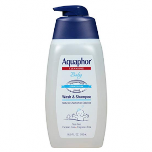 Aquaphor Baby Wash & Shampoo 16.9 Fluid Ounce - Pediatrician Recommended Brand