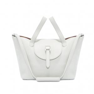 Thela Medium | Tote Bag | White and Tan