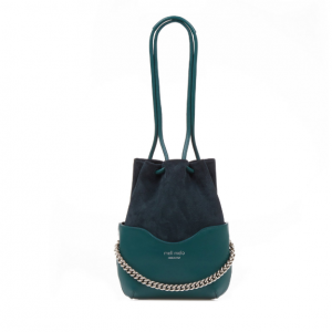 Hetty | Cross Body Bag | Marble Green