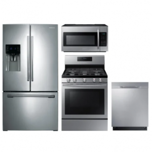 Samsung  SARERADWMW3028 4 Piece Kitchen Appliances Package