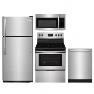 Frigidaire  FRRERADWMW8992 4 Piece Kitchen Appliances Package