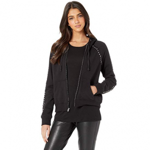 Juicy Couture Track Heathered Terry Studded Robertson Jacket