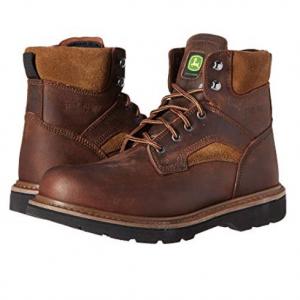 "John Deere 6"" Steel Toe Boot"